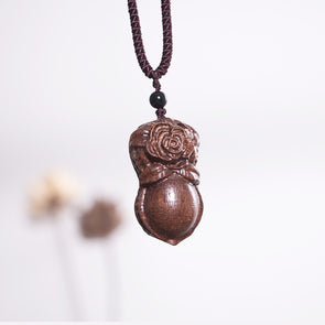 Wooden Retro Ethnic Women Nacklace - Buykud