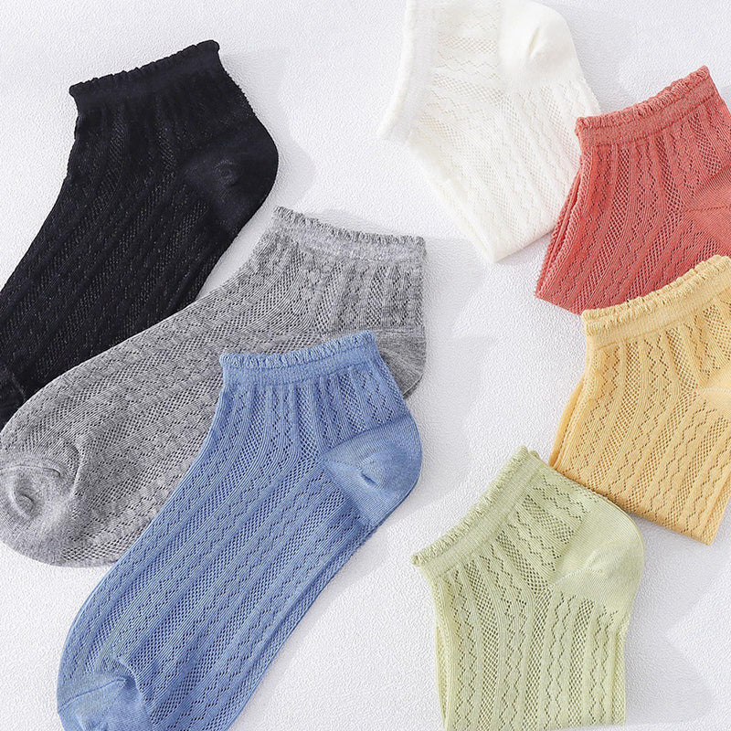Lace Hollow Summer Women Student Socks