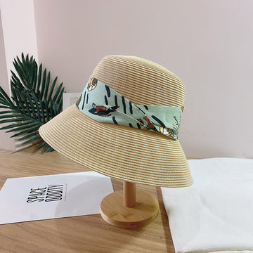 Women Summer Straw Beach Sun Protect Hat