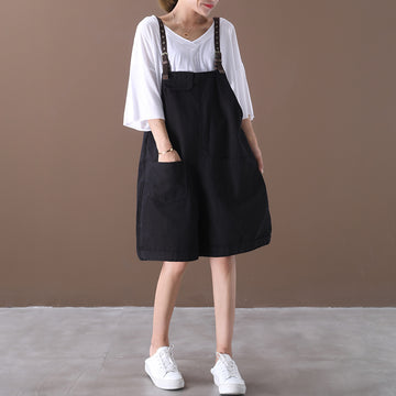 Women Summer Loose Rompers Jumpsuit Overalls