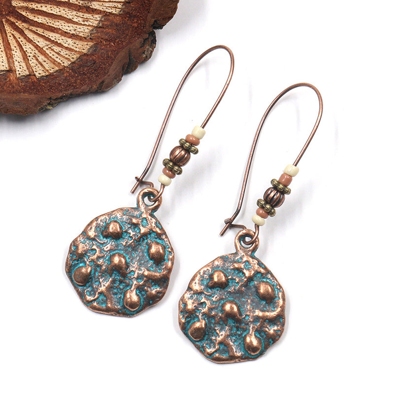 Women Ethnic Alloy Retro Gifts Earrings