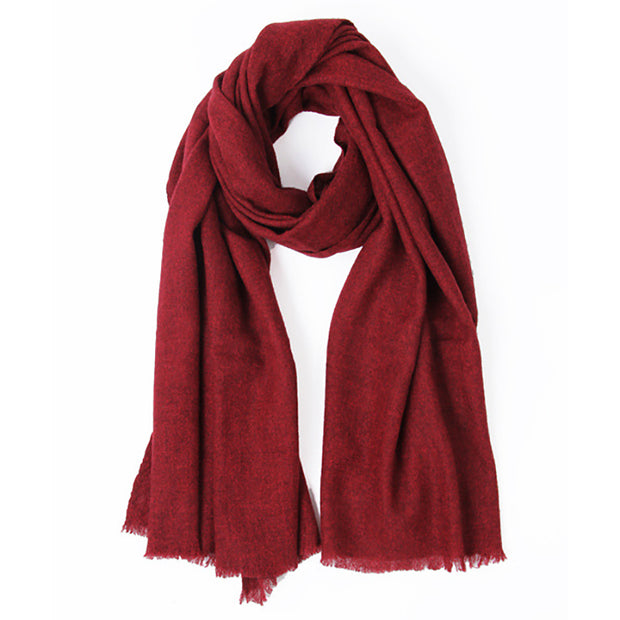 Tassel Winter Women Yak Cashmere Scarf