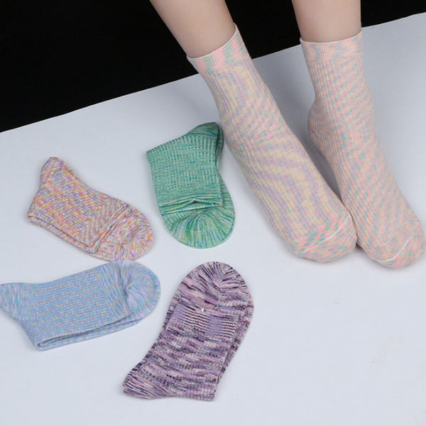 Casual Fall Winter Outdoor Sport Women Cotton Socks