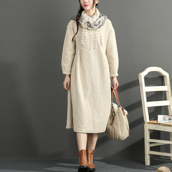 Cotton Loose Large Size Dress