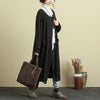 Autumn Single Breasted Loose Knitted Sweater Coat For Women - Buykud