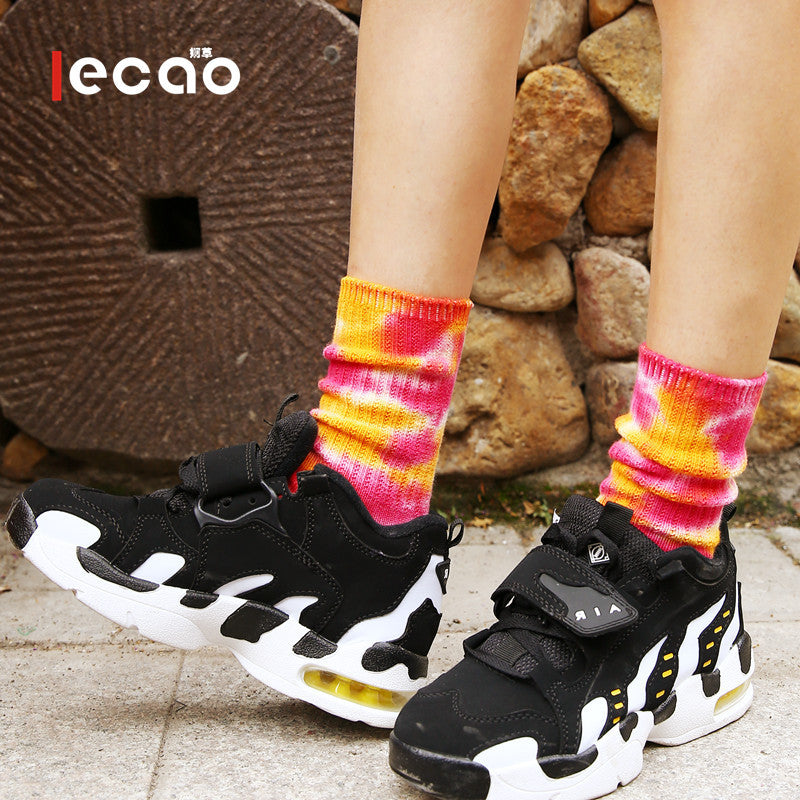 Cotton Autumn Printed Unisex Socks