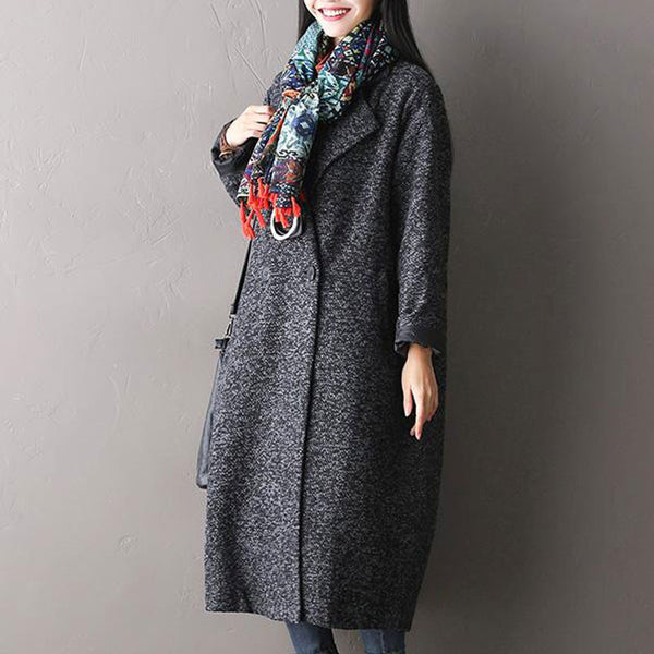 Loose Wool Coat
