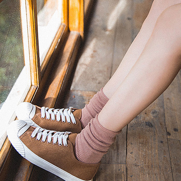 Cotton Knitted Casual Women Keep Warm Socks - Buykud