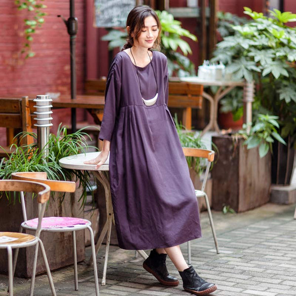 Casual Loose Dress - Buykud