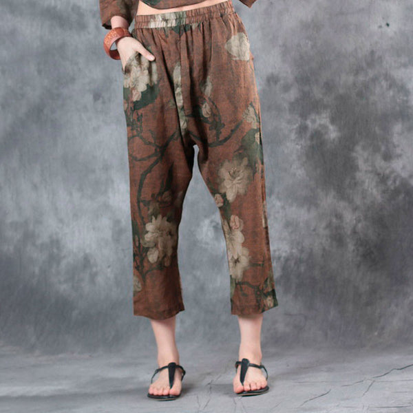 Printing Casual Summer Women Pants