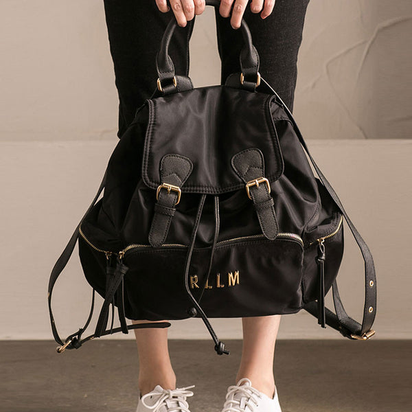 Casual Women Buckle Backpack
