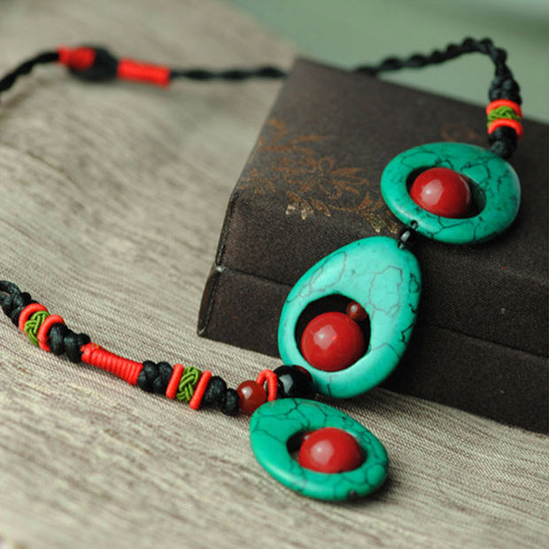 Stylish Design Ethnic Handmade Women Necklace - Buykud