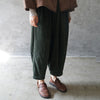 Winter Women Casual Corduroy Pants