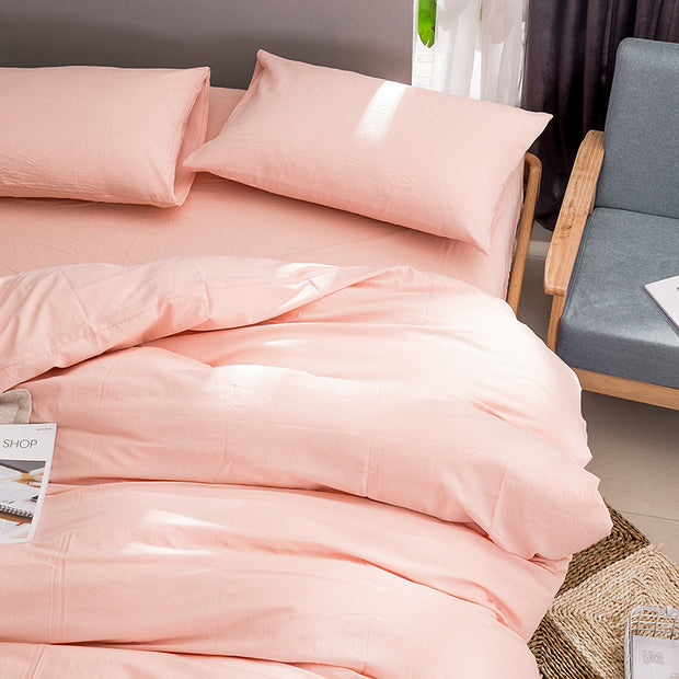 Four-piece Set Duvet Cover Sheet Bed Mattress Pillowcase Bedding Set