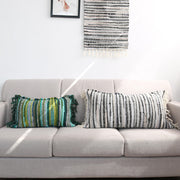 Sofa Decoration Cotton Tassel Soft Pillow