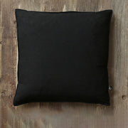 Cotton Linen Solid Color Square Shape Pillowcase