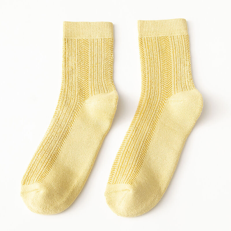 Women Summer Casual Thin Socks(3 Pairs)