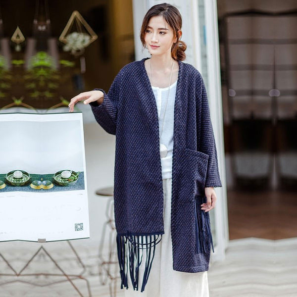 Loose Woolen Jacket
