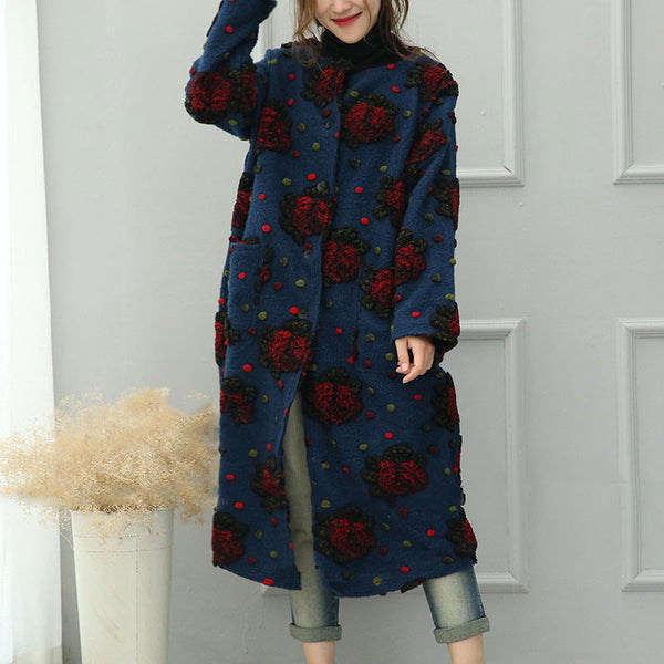 Retro Wool Coat - Buykud