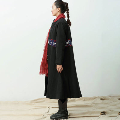 Retro Cotton Jacket Coat - Buykud