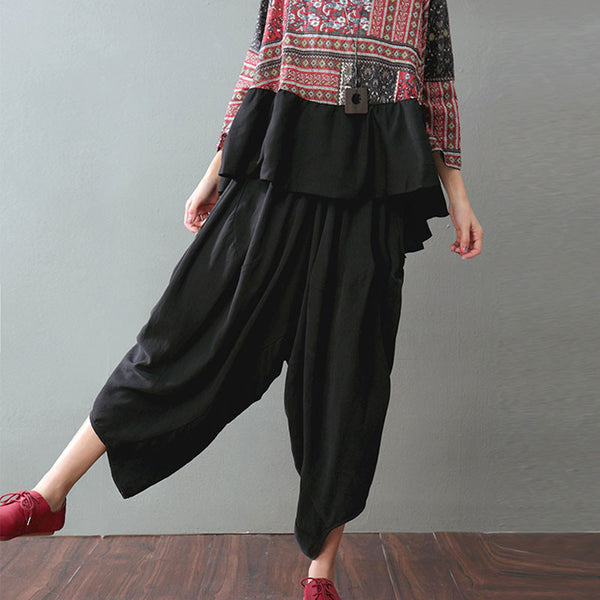 Casual Loose Women Harem Pants