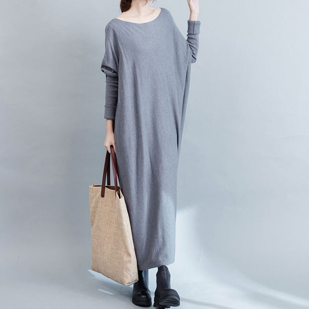 Autumn Slim Thin Knit Sweater - Buykud