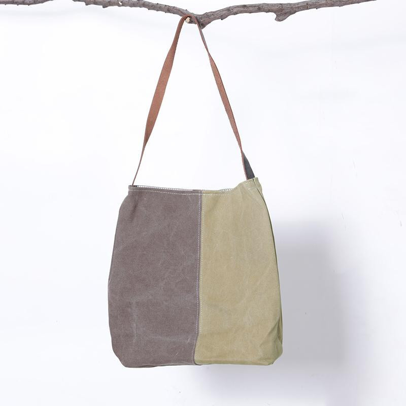 Casual Colour Block Casual Tote Women Shoulder Bag