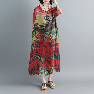 Women Summer Printed Two-Pieces Set - Buykud