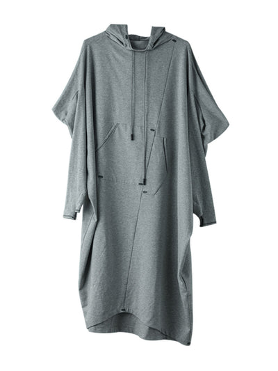 Women Casual Loose Spring Long Sleeve Dress