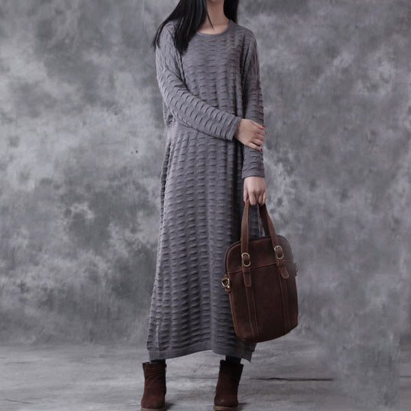 Knitted Loose Dress