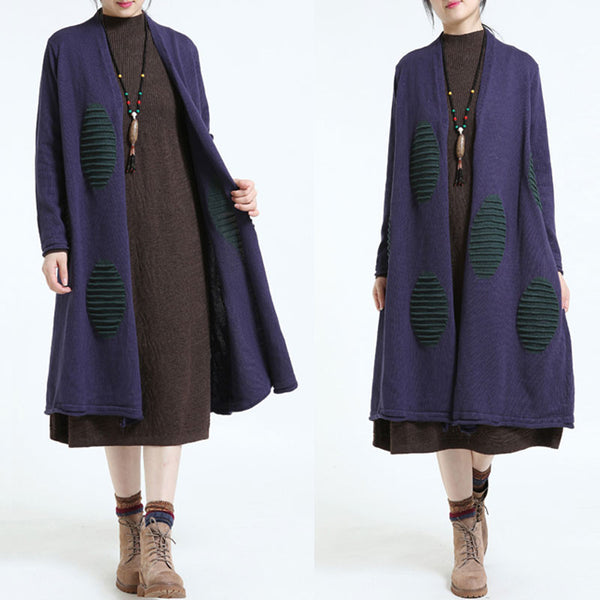 Women's Loose Cacual Sweater Coat