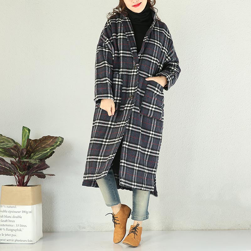 Women winter woolen coat