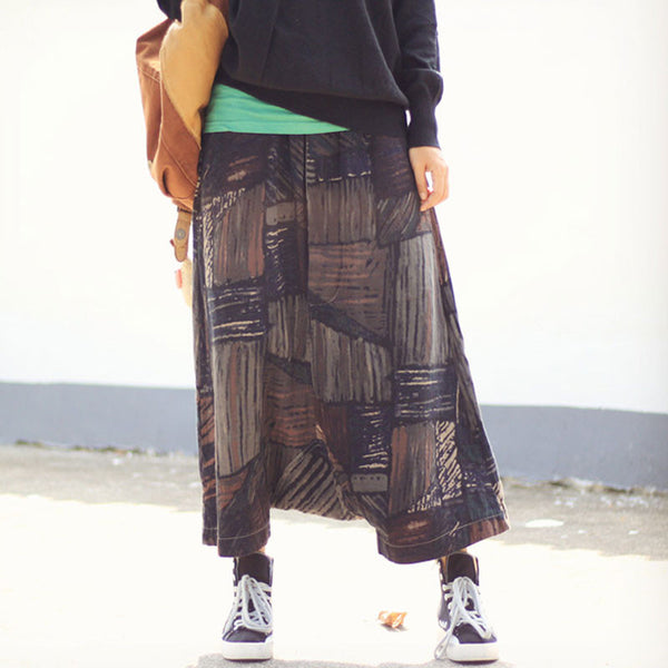 Retro Loose Harem Pants