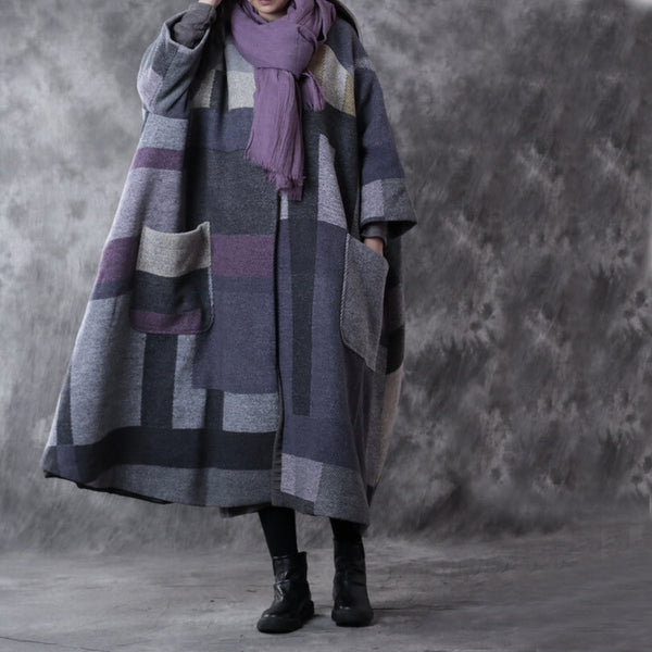 Women Winter Woolen Coat - Buykud