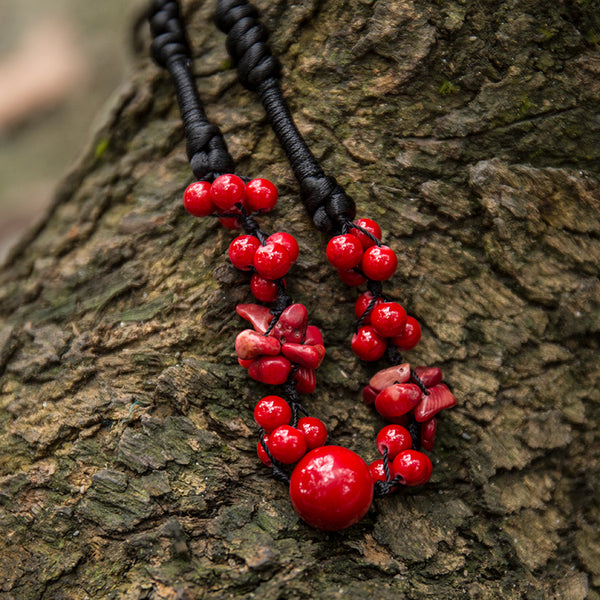 Ethnic Lucky Women Vintage Necklace - Buykud