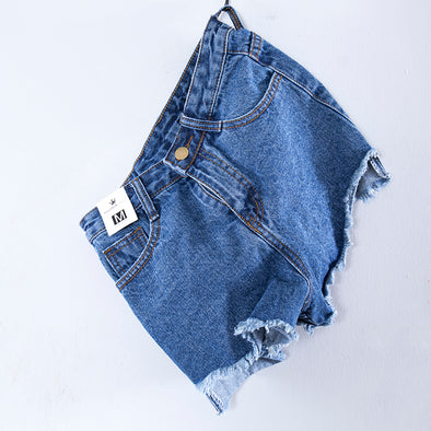 Summer Casual Denim Shorts For Women - Buykud