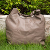 Women Solid Durable Casual Khaki Handbag - Buykud