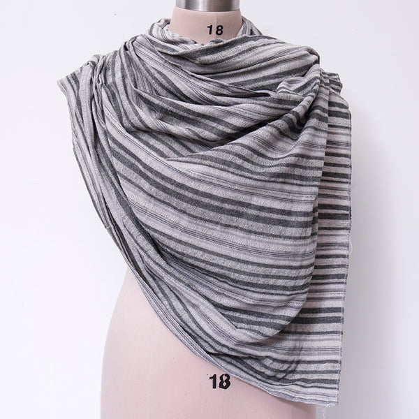 Retro Autumn Stripe Women Casual Scarf For Women - Buykud