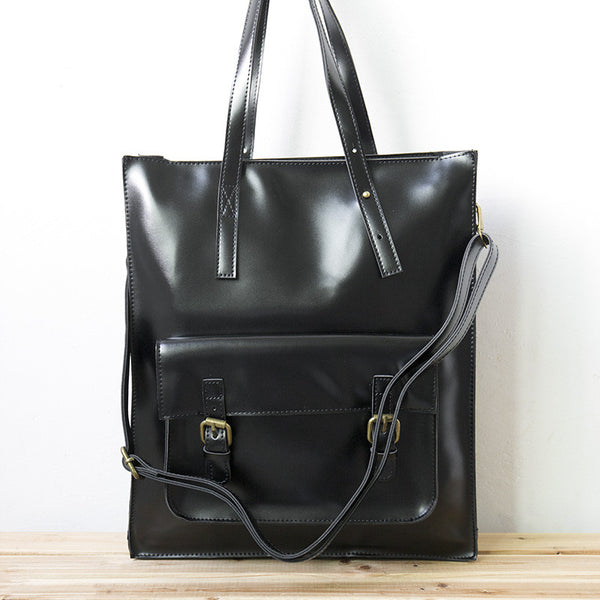 Women Solid Casual Durable Black Shoulder Bag - Buykud