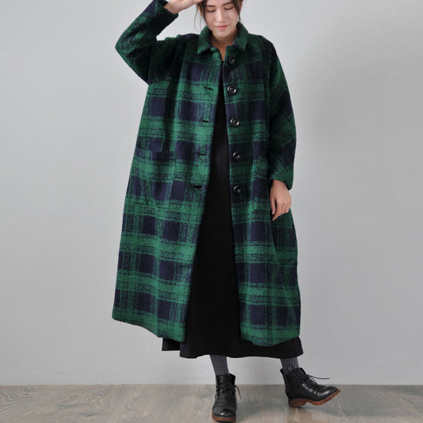 Women Winter Woolen Long Coat