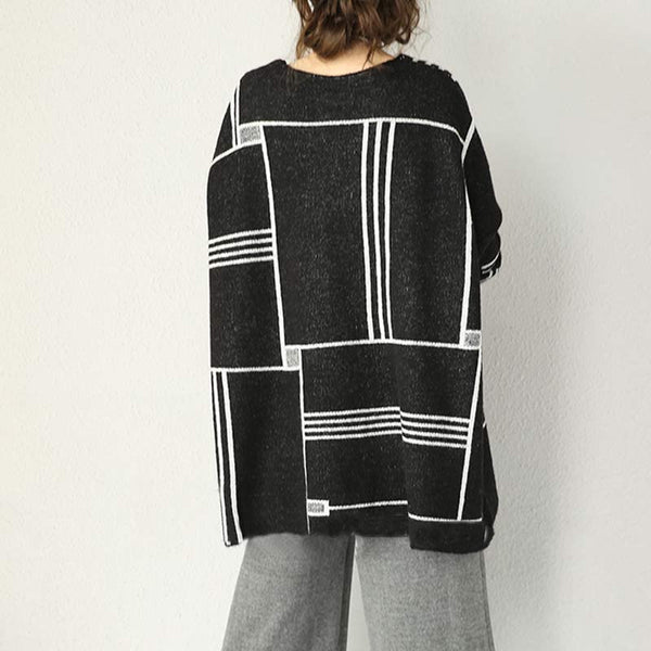 Loose Wool Knit Sweater