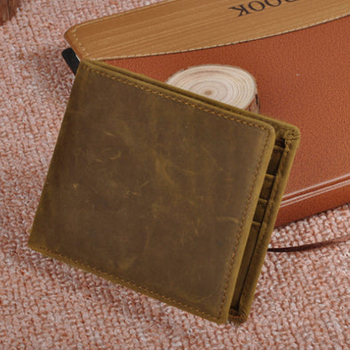 Fashion Scrub Cowhide Luxury Women Card Holder - Buykud