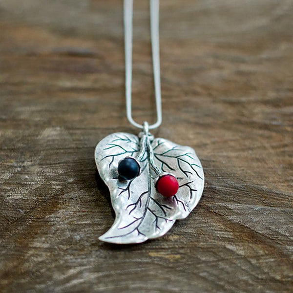 Alloy Vintage Heart Indie Folk Necklace