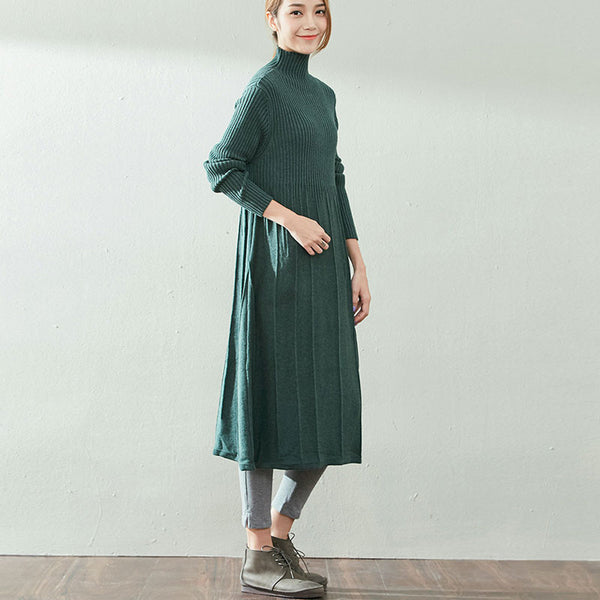 Cotton Knit Dress