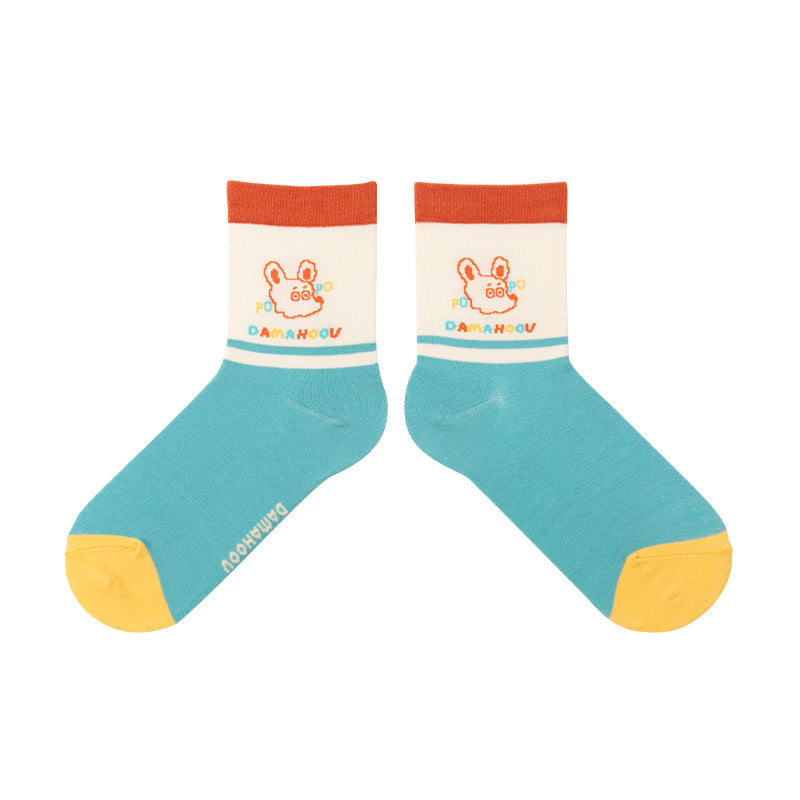 Autumn Women Adult Cotton Socks