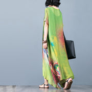 Abstract Printed Loose Soft Comfortable Dress