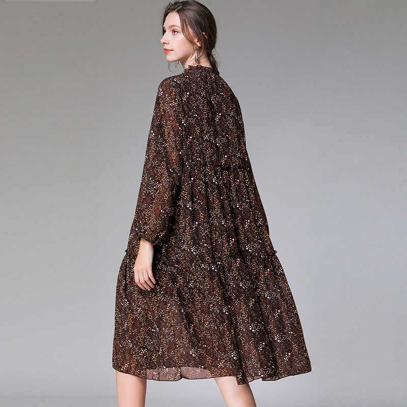 Agaric Lace Fashion Floral Dress