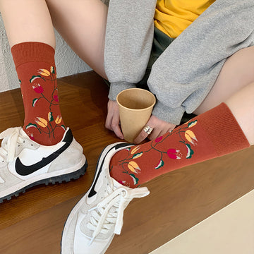 Animal And Plant Sport Unisex Socks(2 Pairs)