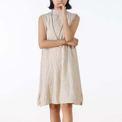 Autumn Knit Casual Sleeveless Sweater Dress