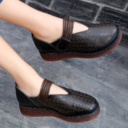 Autumn Leather Classic Soft Women Shoes